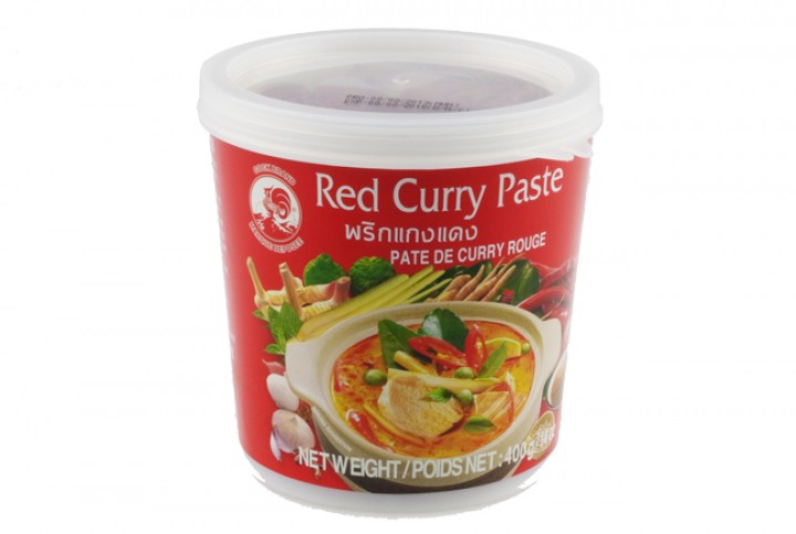 Curry-Paste thailändisch, rot, 400 g