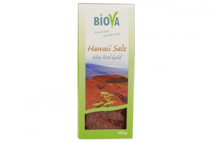 "Hawaii Salz rot ""Alea Red Gold"" 150 g"