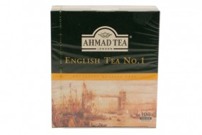 Ahmad English Tea No. 1, 100 x 2 g Beutel